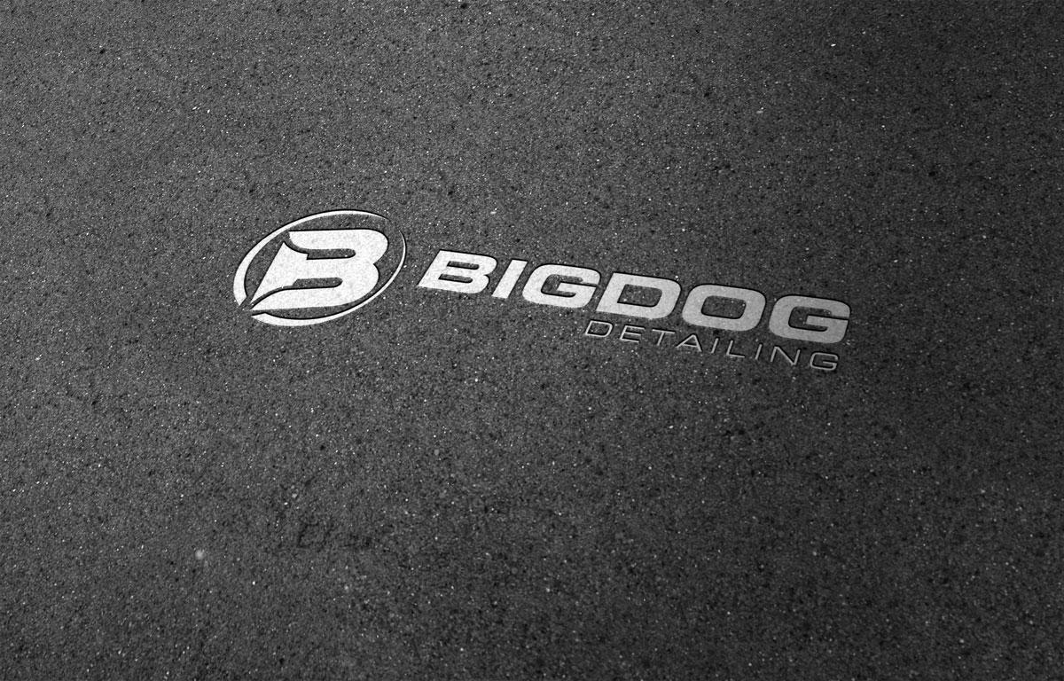 Big Dog Detailing Logo Coast